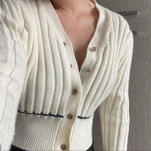 Melmeon Knit Cropped Cardigan